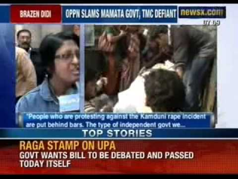 Mamata Banerjee arrest social activist for protesting against rape