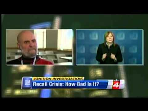 "UDM Prof. Mike Bernacchi on WDIV ""GM recall: How bad is it?"""