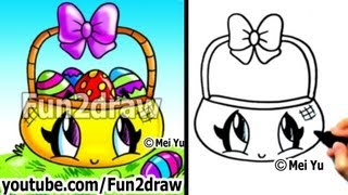 Easy Things To Draw How To Draw Kawaii Stuff Easter