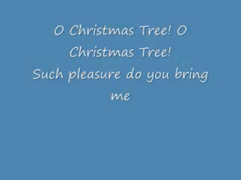O Christmas Tree (With Lyrics) - YouTube