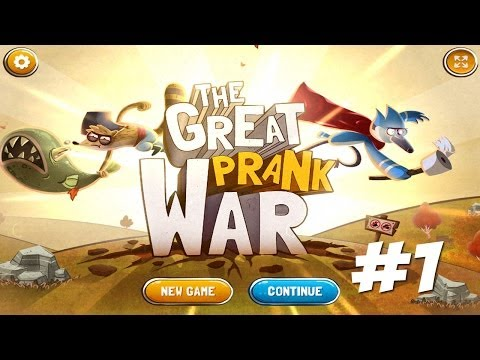 Cartoon Network Games: Regular Show - The Great Prank War [1/2]