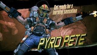 Borderlands 2 Pyro Pete The Invincible Raid Boss Solo