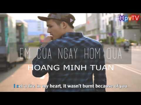 [Karaoke + Beat HD] Em Của Ngày Hôm Qua (English Cover) - Hoàng Minh Tuấn