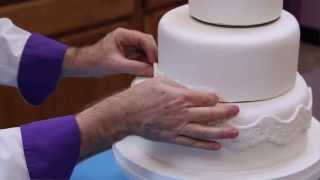 How To Make Your Own Wedding Cake Part 1 Of 2
