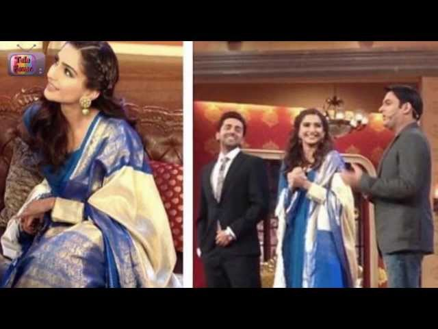 Ayushman Khurana & Sonam Kapoor on Comedy Nights with Kapil 16th March 2014 Full Episode