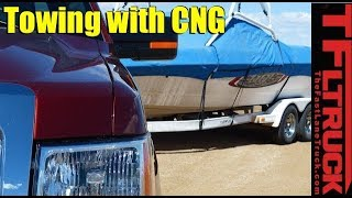 2014 Ford F-150 CNG Takes On The IKE Gauntlet Towing Test