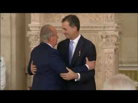 Ceremonia solemne de abdicación de SM el Rey Don Juan Carlos l