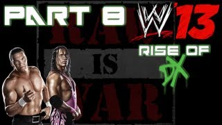 WWE 13: Attitude Era Mode - Rise Of DX - Hunter Hearst Helmsley vs. Bret Hart - Part 8