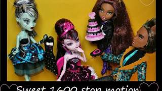 Monster High Sweet 1600 Stop motion! view on youtube.com tube online.