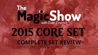 Magic the Gathering Core Set 2015 Complete Set Review - Red