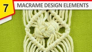 macrame crown knot instructions
