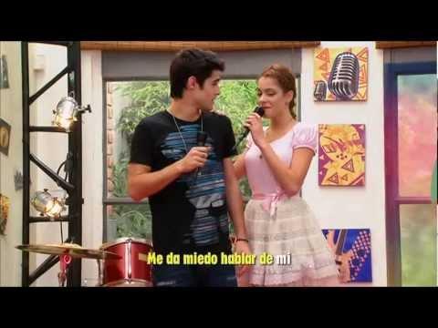 Violetta - tienes todo(karaoke) HD
