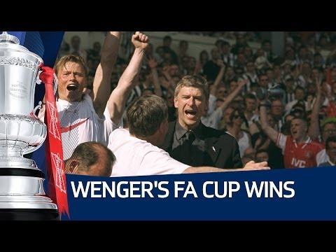 ARSENE WENGER'S FA CUP WINS: Highlights of Arsenal's 4 Final wins under Wenger