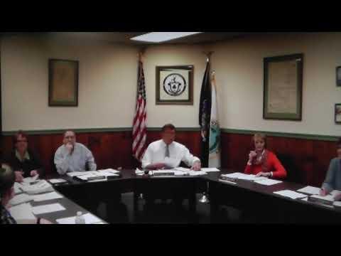 Champlain Village Board Meeting 1-13-14