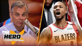 Dame Lillard's Game 5 performance proved why the game is moving away from Westbrook | NBA | THE HERD