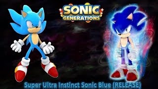 7e5373e5348e Sonic Generations Mod Part 198  Super Ultra Instinct Sonic Blue Mod  (RELEASE)