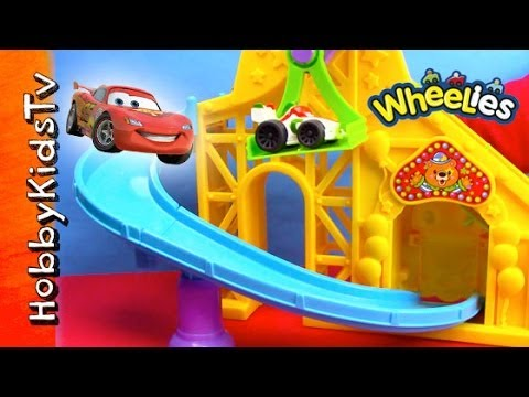 Mater Wheelies Roller Coaster with Lightning McQueen -Little People -Cars 2