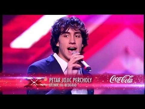 Petar Jojić Percholy (Zdravko Čolić - Živiš u oblacima mala) audicija - X Factor Adria - Sezona 1