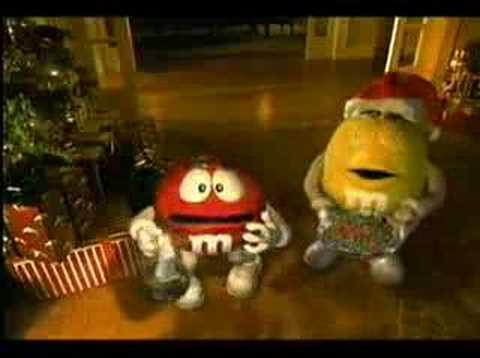 M&Ms - Christmas Faint