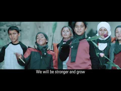 رسالة أمل من أطفال سوريا