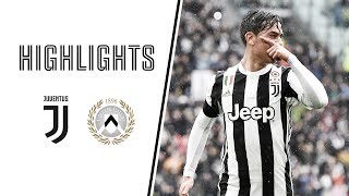 HIGHLIGHTS: Juventus vs Udinese 2-0 - Serie A - 11.03.2018
