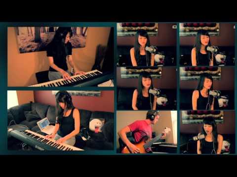 Super Mario World Castle Theme Cover | Michelle Heafy, DonutDrums (Vocal, Piano, Bass)