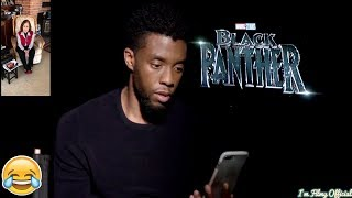 Black Panther - Chadwick Boseman Gets a Shocking Surprise From His Teacher