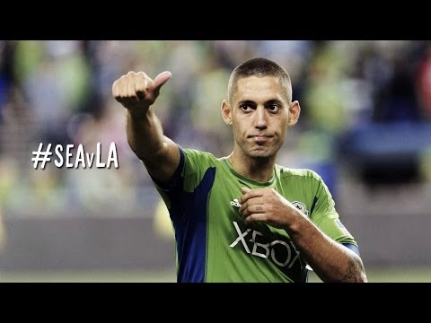 GOAL: Clint Dempsey scores his first of the season | Seattle Sounders vs LA Galaxy