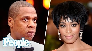 JAY-Z Finally Breaks Silence About Infamous Elevator Incident With Solange | People NOW | People