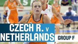 Czech Republic V Netherlands- Group F- 2014 U18