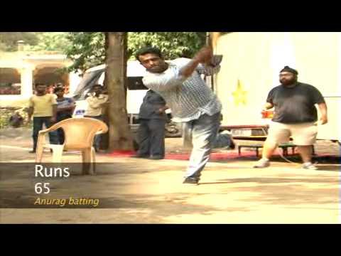 Ranbir Kapoor XI Vs Anurag Basu XI on the sets of Barfii