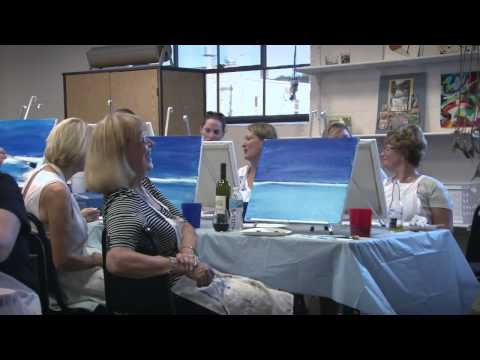 Paint and Pour Promo Video