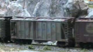 N Scale Model Railroad Scenery