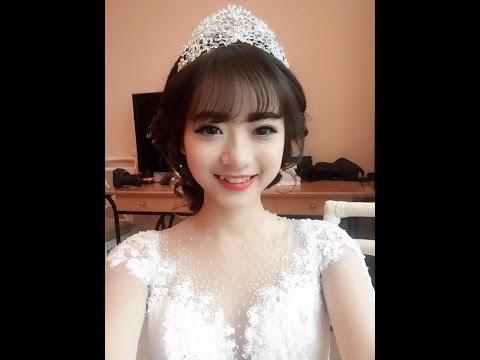 Trang điểm cô dâu phong cách Hàn Quốc Nhẹ Nhàng Trong Sáng