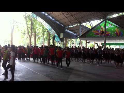 THCS Nguyễn An Ninh - Flash mob Cuộc Sống Muôn Màu