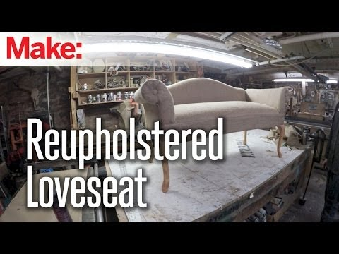 DiResta: Reupholstered Love Seat