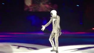 Disney on Ice: Let's Celebrate, Jack Skellington's solo