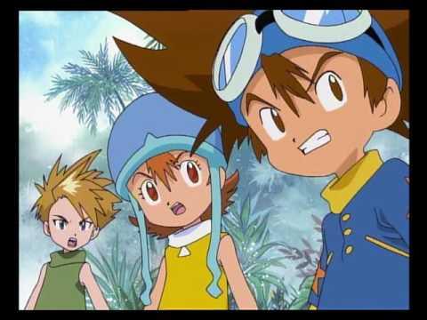 Digimon 1  - Jak to všecho začalo