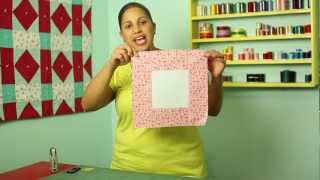 How To Make A Square In A Square Quilt Block- Block#12 Of