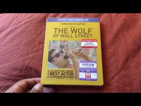 The Wolf of Wall Street (Target Exclusive Steelbook) Blu-ray Unboxing