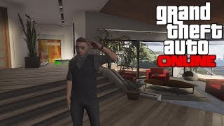 GTA 5 Online - How To Get Into Franklin's House! (Secret Spots) (GTA 5 Glitches) (GTA V Multiplayer)