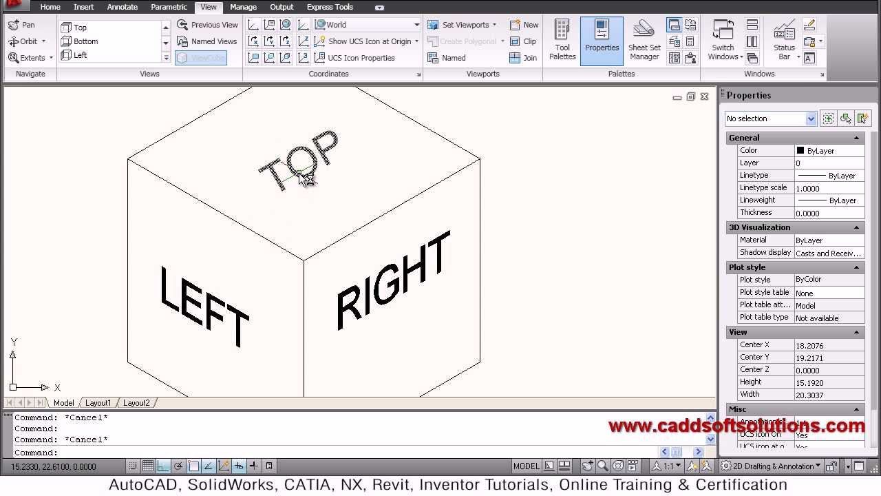 autocad isometric drawing tutorial pdf