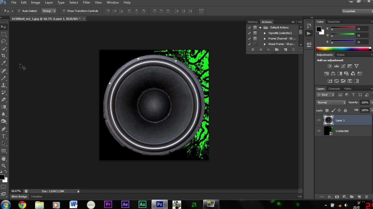 how to use tools in photoshop cs6