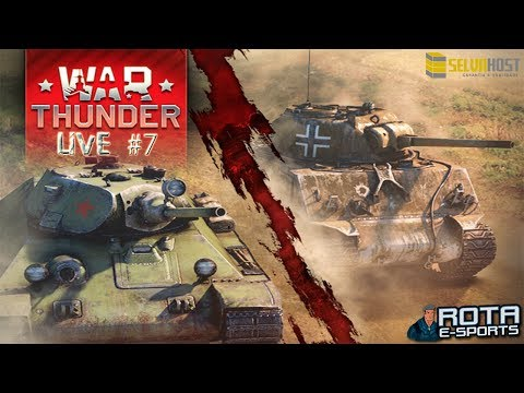 LIVE - War Thunder Tanks #7