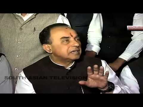 Rahul Gandhi and Sonia Gandhi will go to jail once BJP comes to power - Dr Subramanian Swamy