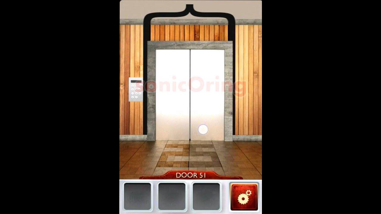 100 doors 2 level 51 walkthrough cheats youtube for 100 door cheats