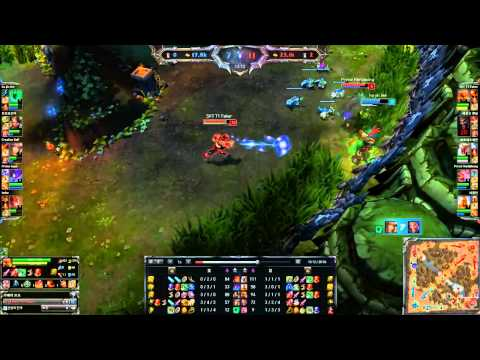 SKT T1 Faker   Mid Lee Sin Play2013 12 24
