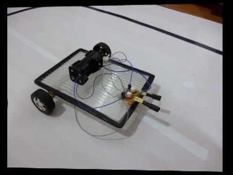 MARDELBOT I - Robot casero seguidor de luz