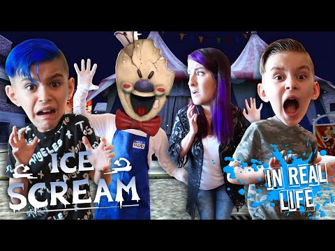 Ice Scream In Real Life Part 2! Escape Rod's House (FUNhouse Family)