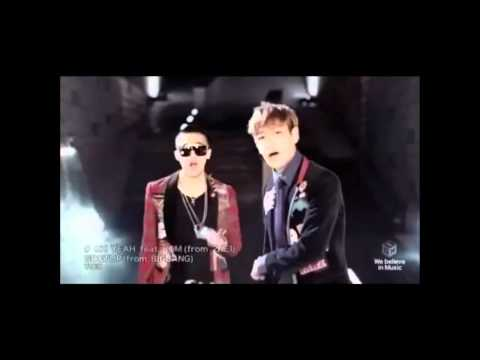 GD &amp; T.O.P.-Oh Yeah! feat. Park Bom (Korean Version) (Full MV)